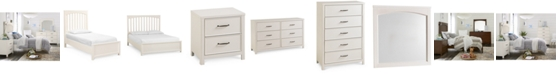 Furniture Ashford Kids White Bedroom Collection