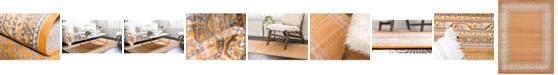 Bridgeport Home Axbridge Axb1 Orange Area Rug Collection