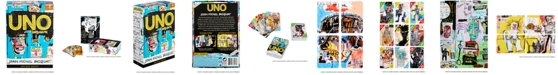Mattel UNO Artiste Series No. 1, UNO® Card Game Featuring Jean-Michel Basquiat, with 112 Card Deck