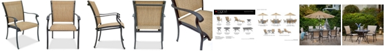 Furniture Beachmont II Outdoor Dining Chair, Created for Macy's
