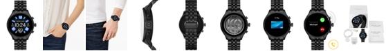 Michael Kors Access Unisex Gen 5 Lexington Black Stainless Steel Bracelet Touchscreen Smart Watch 44mm