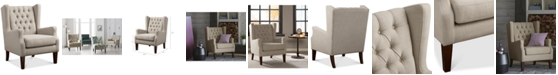 Furniture Stedman Fabric Accent Chair