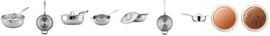 Breville Thermal Pro Clad Stainless Steel 4-Qt. Saucier & Lid