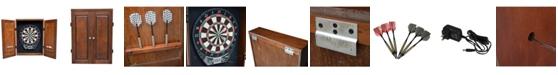 Blue Wave Brookline Electronic Dartboard Cabinet Set