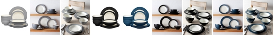 Noritake Colorwave  Rim 12-Piece Dinnerware Set, Service for 4, Created for Macy's