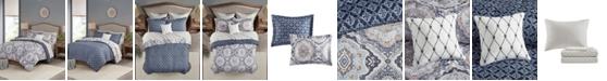 Madison Park Essentials Titus Reversible 8-Piece Full Comforter Set