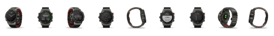Garmin Unisex Marq Driver Black Titanium Strap Smart Watch 46mm