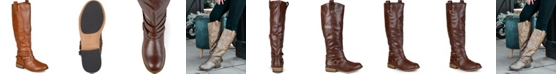 Journee Collection Women's Wide Calf Walla Boot