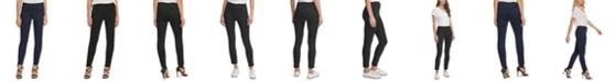 DKNY Slim Leg Pull-On Ponte Pant