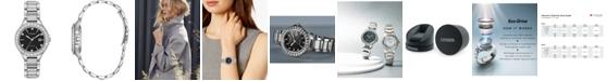 Citizen Eco-Drive Women's Silhouette Crystal Stainless Steel Bracelet Watch 31mm