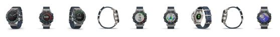 Garmin Unisex Marq Captain Blue Nylon Strap Smart Watch 46mm