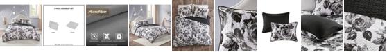 Intelligent Design Dorsey Full/Queen 3-Pc. Reversible Printed Coverlet Set