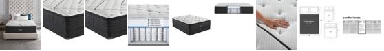 """Beautyrest L-Class 15.75"""" Medium Firm Pillow Top Mattress Set - Queen Split"""