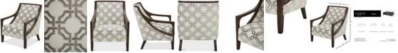 "Furniture Yazlan 28"" Fabric Accent Chair"