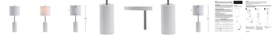 "JONATHAN Y Aksel 25.5"" Marble LED Table Lamp"
