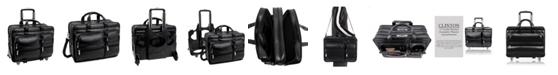 "McKlein Franklin 15"" Patented Detachable Wheeled Laptop Briefcase"