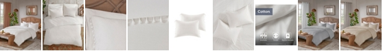 Madison Park Lillian Full/Queen 3 Piece Cotton Duvet Cover Set