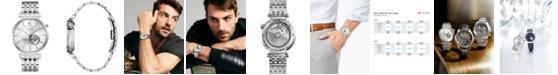 Bulova Men's Automatic Regatta Stainless Steel Bracelet Watch 40mm