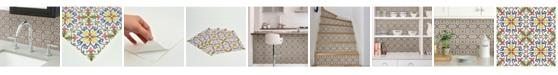 Brewster Home Fashions Tuscan Tile Peel And Stick Backsplash Tiles
