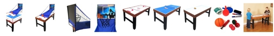 Blue Wave Accelerator 4-in-1 Multi-Game Table