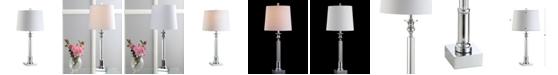 JONATHAN Y Dean Crystal Led Table Lamp