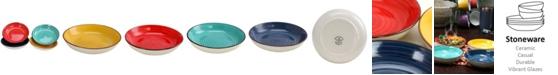 """Laurie Gates Color Speckle 4 Piece 8.25"""" Bowl Set"""