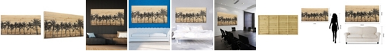"Empire Art Direct 'Solitary Beach' Arte De Legno Digital Print on Solid Wood Wall Art - 30"" x 60"""