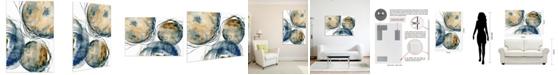 "Empire Art Direct 'Hibernation I' Frameless Free Floating Tempered Art Glass Wall Art - 48"" x 32''"