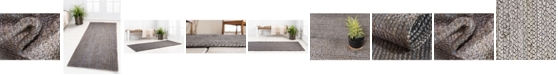 Bridgeport Home Braided Jute B Bjb5 Gray Area Rug Collection