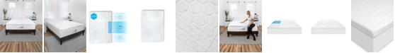 SensorGel Smart Zone 3-Inch Quilted Memory Foam Mattress Topper - Twin