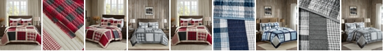 Woolrich Huntington Reversible 3-Pc. Oversized King/California King Quilt Mini Set