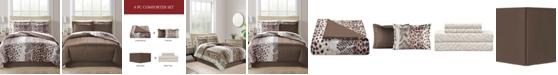 Fairfield Square Collection Congo Reversible 8-Pc. Queen Comforter Set