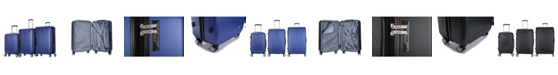 DUKAP Crypto 3-Pc. Hardside Luggage Set