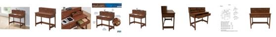 RTA Products Techni Mobili Elegant Writing Desk