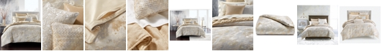 Hotel Collection Metallic Stone Full/Queen Comforter, Created for Macy's