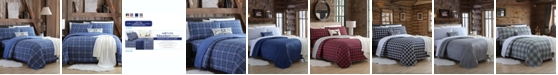 Cathay Home Inc. Blanket Sheet Set with Reversible Faux Mink Flat Sheet - Queen