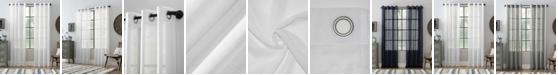 """Archaeo Textured Linen Blend 52"""" x 63"""" Curtain"""