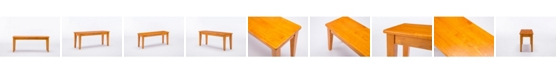 Boraam Shaker Collection Dining Bench