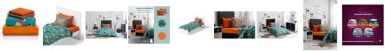 Chital Cat Print Double-Brushed Microfiber 4 Piece Twin Sheet Set