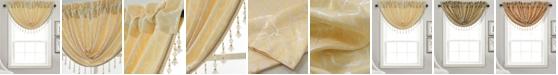 "RT Designers Collection Andora Textured Jacquard 48"" x 37"" Swag Valance"