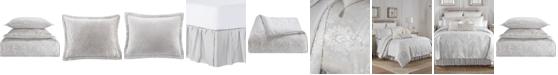 Waterford Belline Reversible 4 Piece Comforter Set, Queen