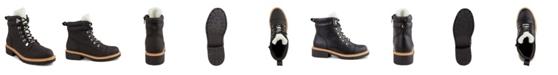 London Fog Women's Dennis Fashion Hiker Ankle Boot