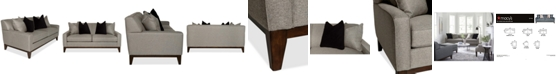"Furniture Effie 73"" Apartment Fabric Sofa, Created for Macy's"