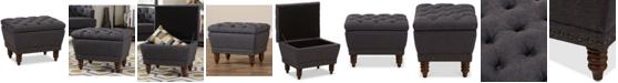 Furniture Jaleen Storage Ottoman