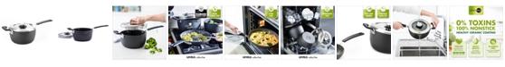 GreenPan Levels 3-Qt. Stackable Ceramic Nonstick Saucepan with Straining Lid