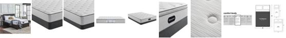 """Beautyrest BR800 12"""" Medium Firm Mattress Set - Full"""