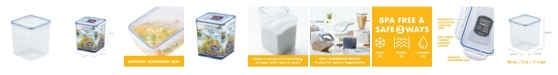 Lock n Lock Easy Essentials Square 11-Cup Sugar Storage Container