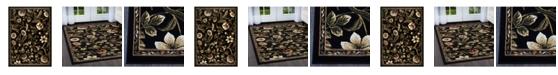 Global Rug Designs Global Rug Design Vision VIS01 Black Area Rug Collection