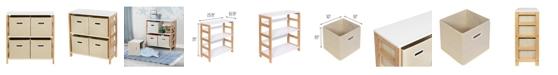 Honey Can Do 4-Bin Kids Room or Playroom Organizer