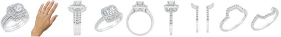 Macy's Diamond Bridal Ring Set (2 ct. t.w.) in 14K White Gold